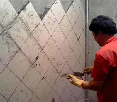 贴地板砖步骤图