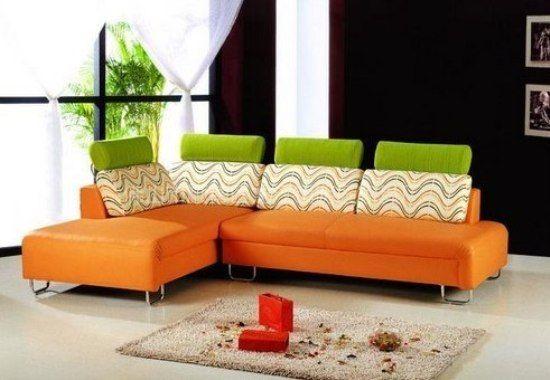 靓丽的布艺沙发 10图让你挑选客厅沙发