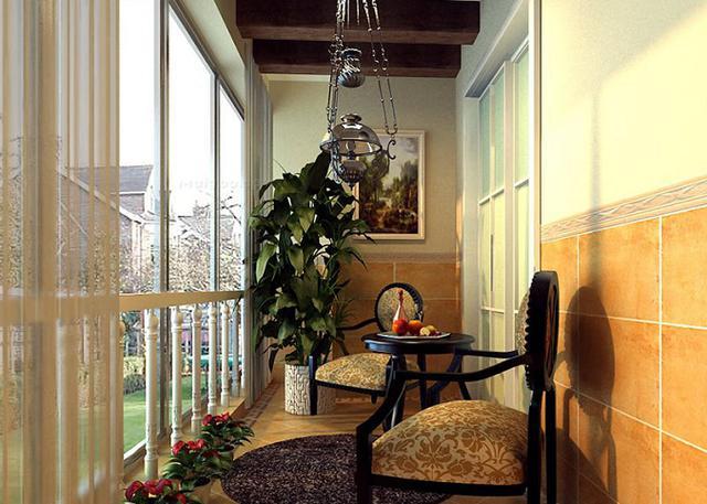 阳台装修设计的安全原则