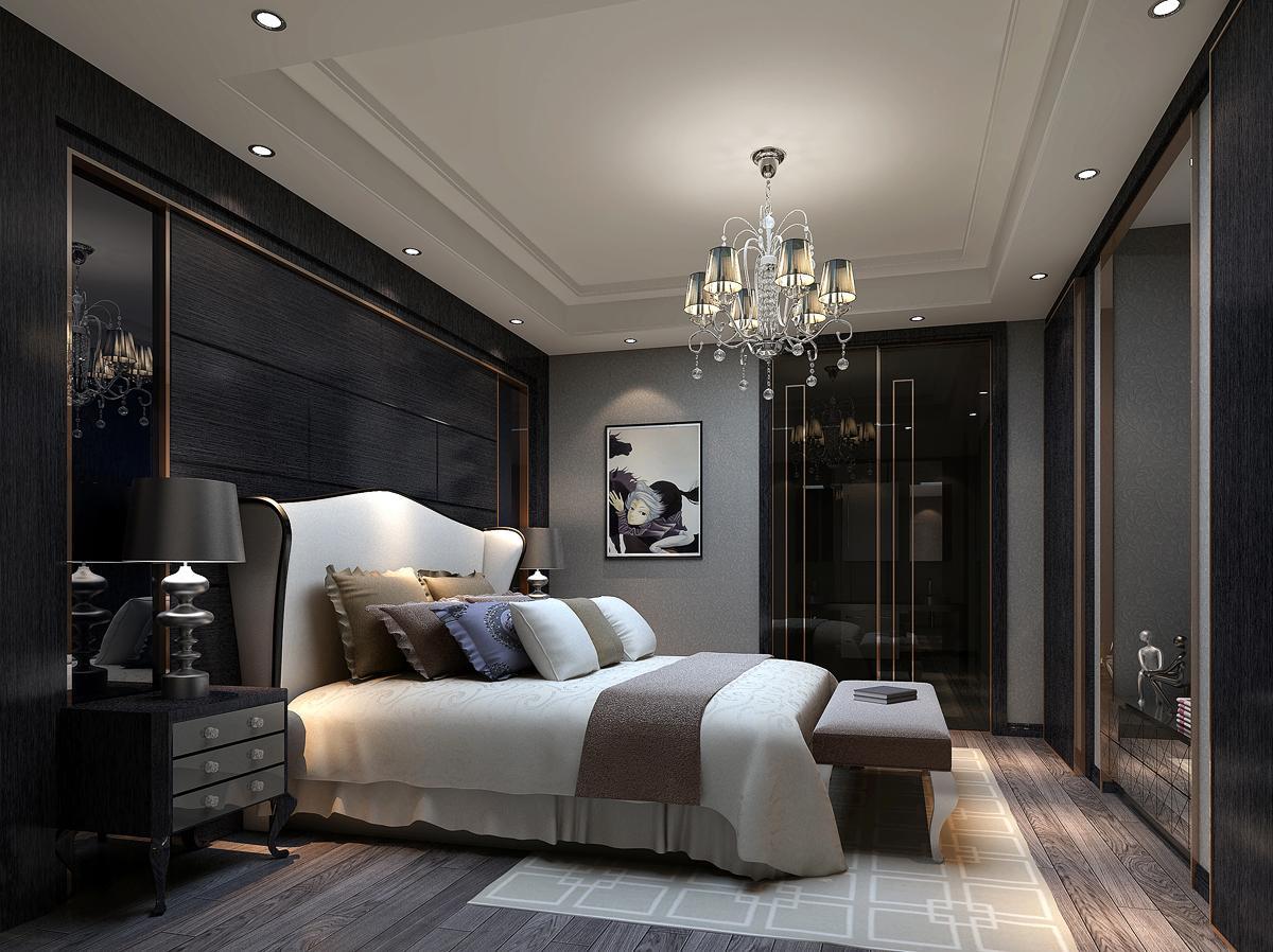 后现代卧室装修效果图