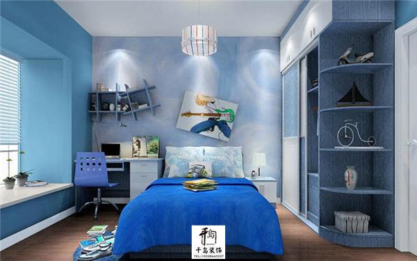 地中海风格儿童房装修