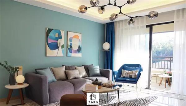 2018年最流行的客厅装修风格(极简风)