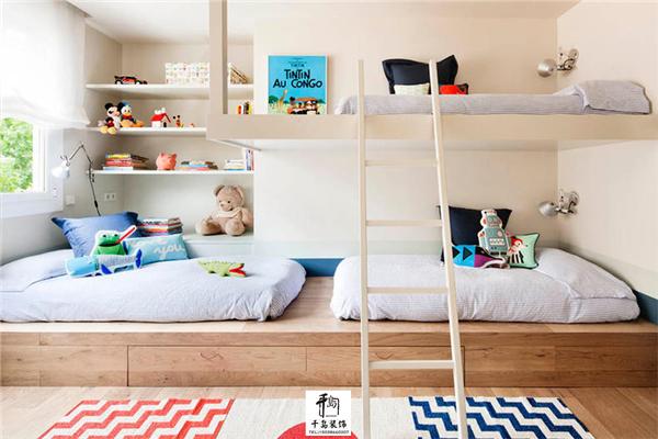 主页 装修课堂       合理的儿童房收纳,让小房间也能装下很多东西,给