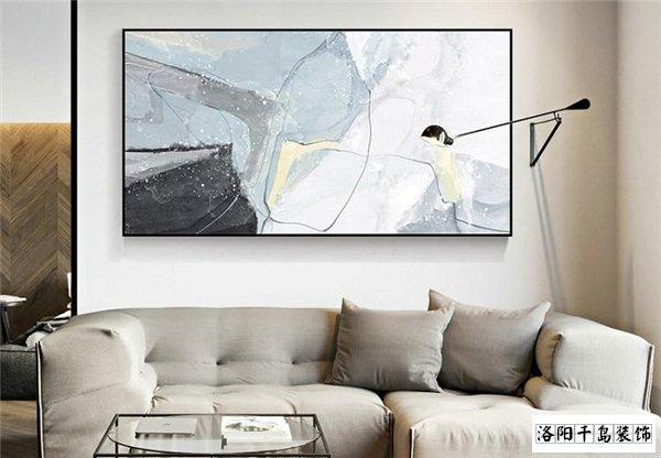 抽象客厅画