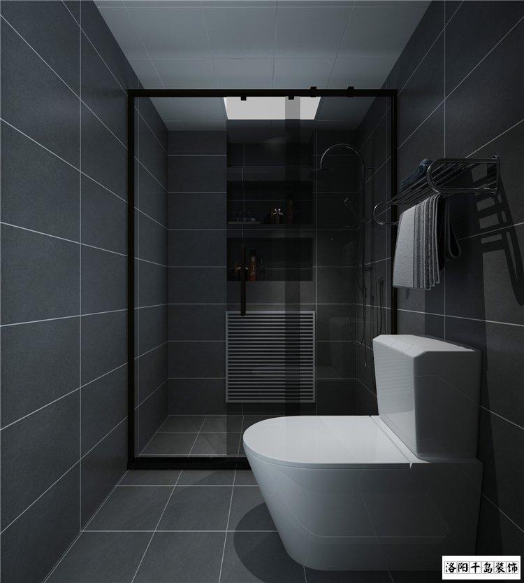 卫生间湿区排列五计算器效果图