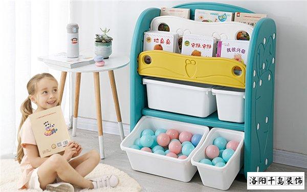 儿童房多用置物架