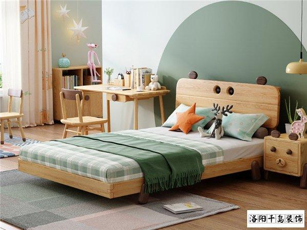 儿童房全实木儿童床