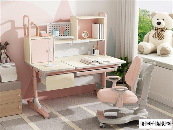 儿童房学习小书桌