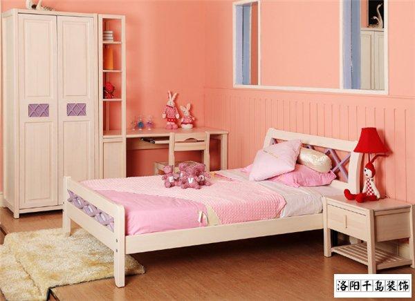 儿童房纯实木衣柜