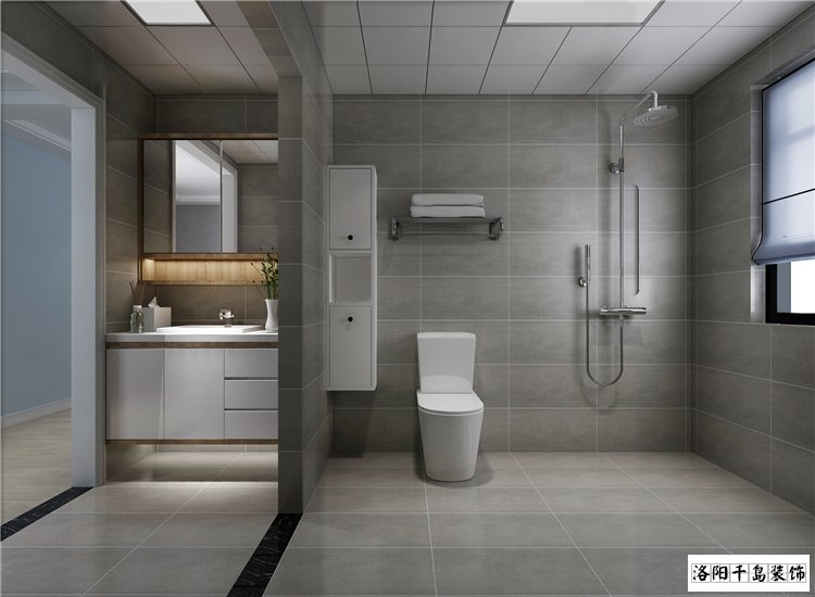 卫生间排列五计算器效果图