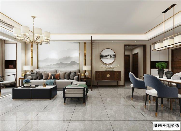 客厅沙发墙排列五计算器效果图