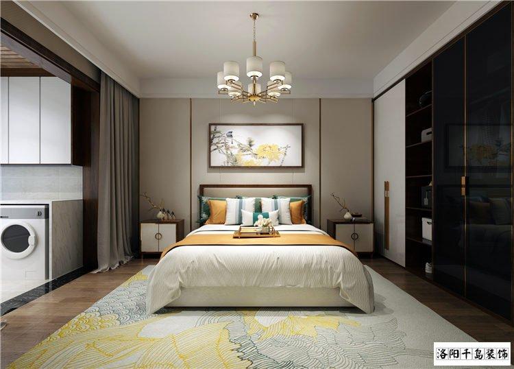 客卧室排列五计算器效果图