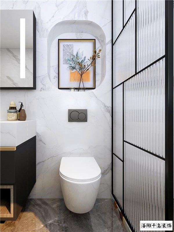 哪家洛阳装饰公司比较好?卫生间动线设计