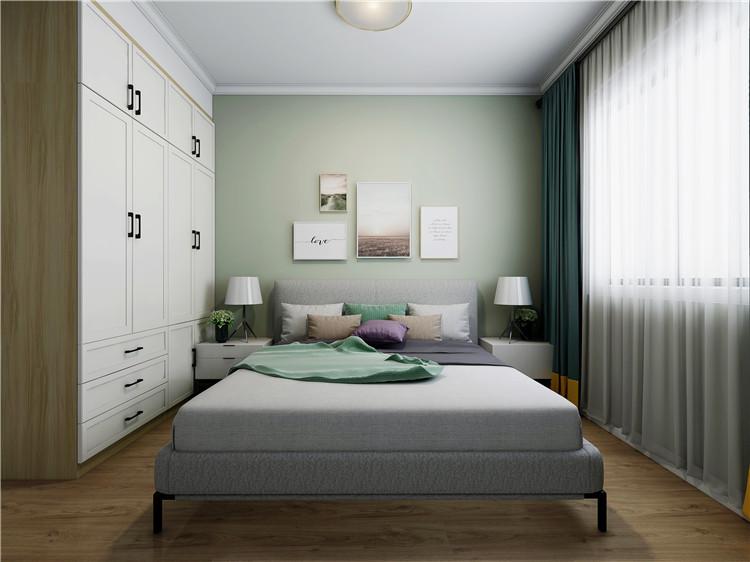 次卧室排列五计算器效果图